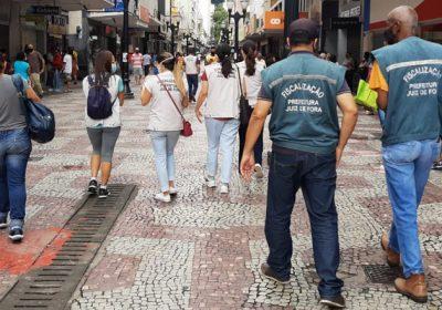 Equipe de fiscalização da PJF realizou mais de 200 vistorias durante a semana