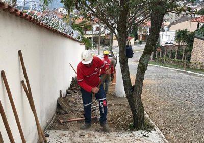 Cesama remodela 70 metros de redes de esgoto no Quintas das Avenidas
