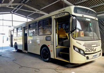Empresa de Curitiba compra ônibus que foram apreendidos da GIL