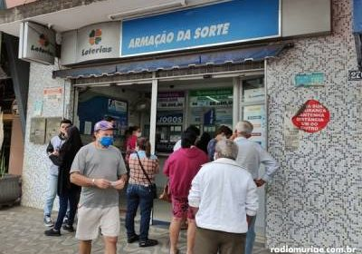 Apostador de Muriaé acerta as cinco dezenas da Quina e fatura R$ 7 milhões