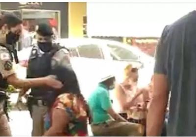 Mulher leva dois tapas no rosto de policial militar em MG